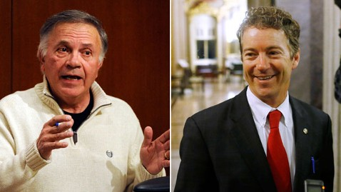 gty ap tancredo paul split kb 130322 wblog Tom Tancredo Disavows Rand Paul, Calls Him Softer Than Obama on Immigration