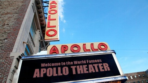gty apollo theatre thg 120119 wblog Obama Out for Big Bucks in Big Apple