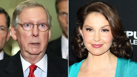 Were McConnell's Senate Staff Digging Up Dirt on Ashley Judd?