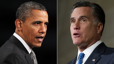 gty barack obama mitt romney jt 120601 wblog Dead Heat in Vote Preferences Presages an Epic Battle Ahead