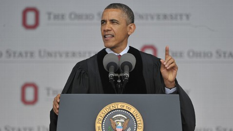 gty barack obama ohio commencement jt 130505 wblog Obama Challenges Ohio State University Graduates to Become Active Citizens