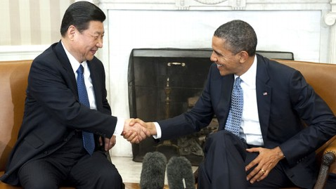 gty barack obama xi jinping dm 120214 wblog Obama Hosts Chinese VP, Urges Responsibilities for Fair Play