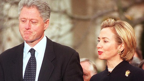 gty clinton impeach tk 120214 wblog Bill Clinton Struggled to Deal With Lewinsky Affair, Film Says