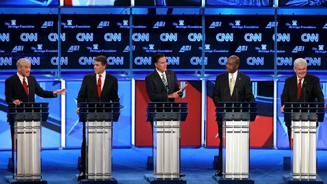 gty debate podiums nt 111122 wblog Winners and Losers at GOP National Security Debate
