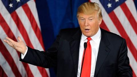 gty donald trump tk 120222 wblog Donald Trump Assails Rick Santorums Lobbyist Past In Michigan Robo Call