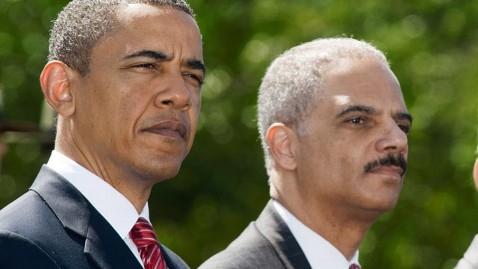 gty eric holder obama thg 120620 wblog White House Invokes Executive Privilege on Fast and Furious Documents