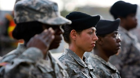 gty female soldiers jef 120210 wblog Rick Santorum at Odds With the Public on Women in Combat