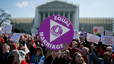 gty gay marriage 2 nt 130326 wblog Nancy Pelosi Attends Supreme Court Arguments, Predicts DOMA Will Be Struck Down