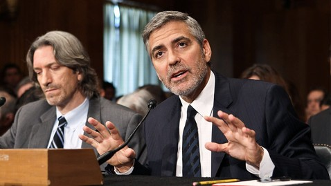 gty george clooney ll 120314 wblog Clooney on Capitol Hill: The Constant Drip of Fear in Sudan