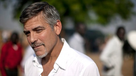 gty george clooney sudan jp 120314 wblog George Clooney Surprised By Success of Kony 2012 Video