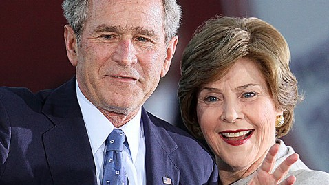 gty george laura bush dm 130415 wblog FIRST ON ABC: Diane Sawyer to Speak with George W. Bush and Laura Bush in a Special Interview