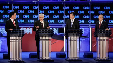 gty gop debate jef 120130 wblog Candidates Set to Square Off in Pivotal Arizona Debate