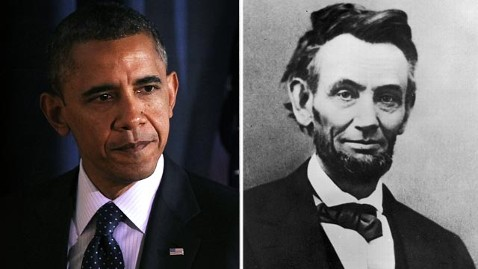 gty gty barack obama abraham lincoln jef 130218 wblog Presidents Day: Bipartisan Views on Greatness