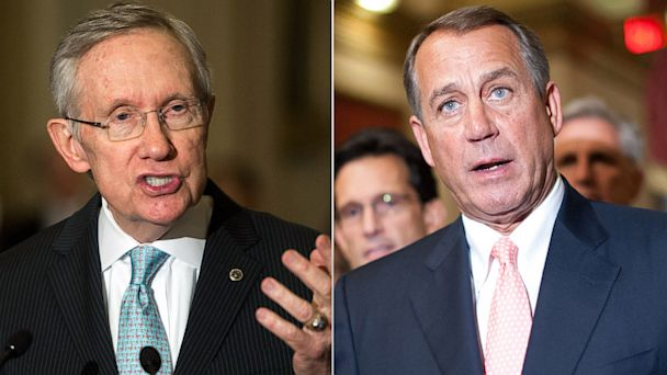 gty harry reid john boehner government shutdown thg 131001 16x9 608 Government Shutdowns Fiercest Feud: Boehner vs. Reid