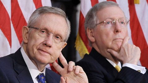 gty harry reid mitch mcconnell ll 120313 wblog Reid and McConnell Agree: US Should Keep Timetable for Afghanistan Withdrawal