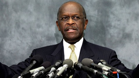 gty herman cain jef 111103 wblog Cain Shows Initial Resilience in the Face of Controversy