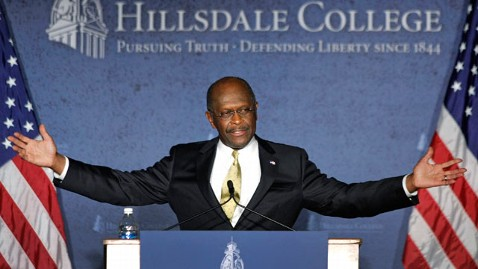 gty herman cain jp 113011 wblog Herman Cain Would Not Make a Good President, Ginger White Says