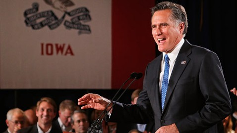 gty iowa mitt romney dm 120104 wblog Mitt Romney on Rick Santorum: He Focused on Iowa, Im Running A National Campaign
