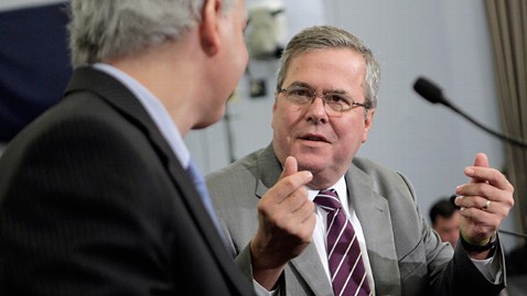gty jeb bush ll 120601 wblog Jeb Bush Offers Some Praise to Obama, Again Rejects Romney VP Idea