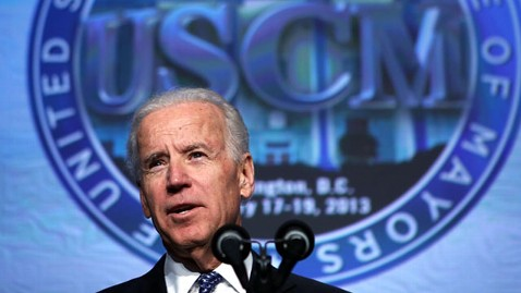 gty joe biden mayors nt 130117 wblog Biden Confirms Support for Second Amendment, Says He Owns Two Shotguns