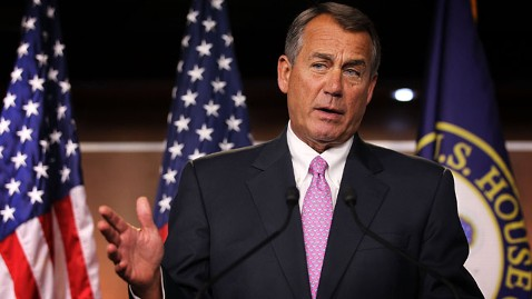 gty john boehner jt 121202 wblog Boehner: No Progress on Fiscal Cliff Talks