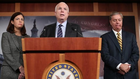 gty john mccain jef 121115 wblog McCain Misses Classified Briefing While Blasting White House over Benghazi