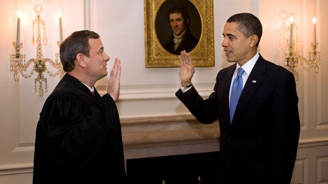 gty john roberts obama jef 120628 wblog Obama To Be Sworn In Twice... Again