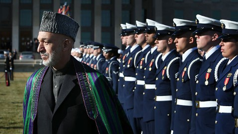 gty karzai dc kb 130110 wblog Karzai in Washington to Discuss U.S. Military Future in Afghanistan