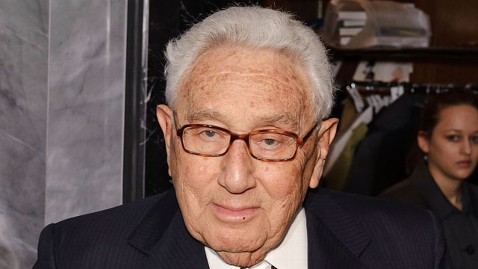 gty kissinger mi 130305 wblog Henry Kissinger Hospitalized After Fall