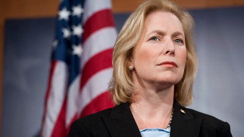 gty kristin gillibrand kb 130306 wblog Kirsten Gillibrand Says Senate Women Waiting on Obamas White House Invitation