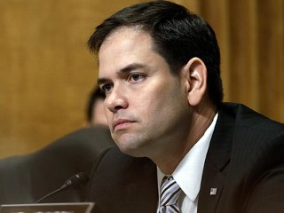 PHOTO: Sen. Marco Rubio, R-FL, listens as U.S. Ambassador to the Syrian Arab Republic Robert Ford testifies before the Senate Foreign Relations Committee on Capitol Hill, April 11, 2013, in ...