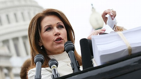 gty michele bachmann ll 120327 wblog Michele Bachmann Speaks, but Can Anyone Hear Her?