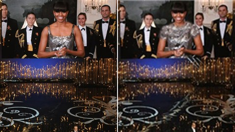 gty michelle obama oscars iran nt wblog Michelle Obamas Image Altered By Iranian News Agency