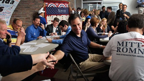 gty mitt romney florida nt 120131 wblog The Statistic of the Campaign: Romneys Single Positive Ad in Florida