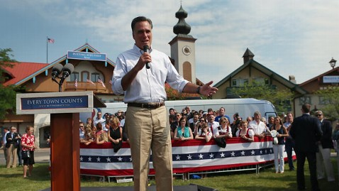 gty mitt romney mi kb 120619 wblog Chicken, Noodles Delight Romneys in Michigan Homecoming