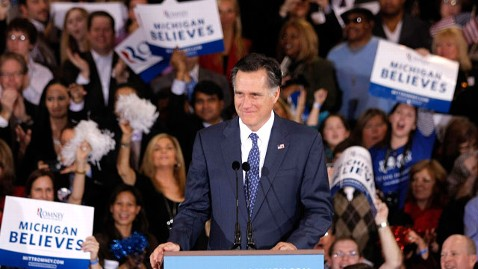 gty mitt romney michigan nt 120228 wblog Romney Exhales After Michigan Win, but Super Tuesday Success Wont Come Easy