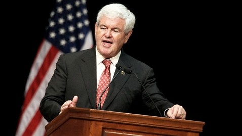 gty newt gingrich campaign alabama thg 120313 wblog Gingrich Late to Respond to Voter Calling Obama a Muslim
