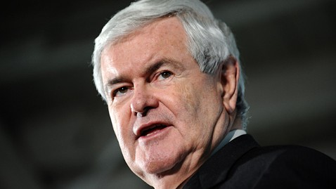 gty newt gingrich ll 120106 wblog Newt Gingrich Dodges Questions About Campaign, Confronted About Student Janitors