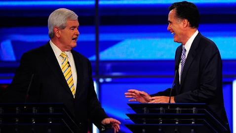 gty newt gingrich mitt romney jt 111204 wblog Mitt and Newt: Yin and Yang of the GOP Establishment