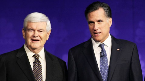 gty newt mitt tk 111210 wblog Shots Fired: A GOP Civil War In South Carolina (The Note)