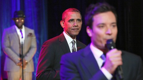 gty obama jimmy fallon jp 120425 wblog Obama Jokes About Romney   Were Not Friends