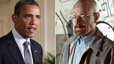 gty obama white ss jp 120713 wblog Your Favorite Politicos Breaking Bad