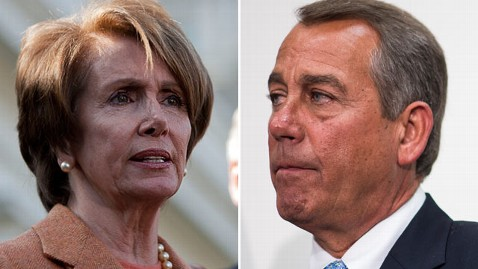 gty pelosi boehner tk 121128 wblog Boehner and Pelosi Agree on One Thing   Fiscal Deal ASAP
