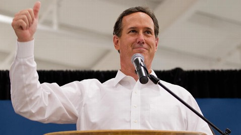 gty rick santorum campaign2 120313 wblog Do the Math: Santorums Best Shot May Be Gingrichs Remaining in the Race