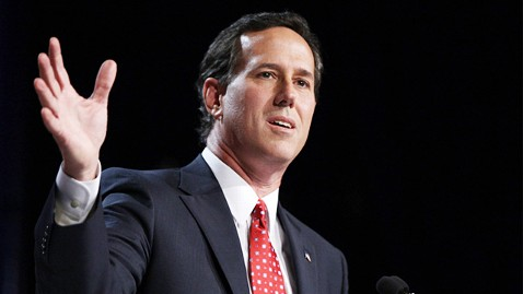 gty rick santorum ll 111028 wblog Is Rick Santorum The Incredible Shrinking Candidate? (The Note)