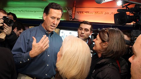 gty rick santorum ll 120106 wblog Michigan Democrat Unleashes Last Minute Pro Santorum Robo Call