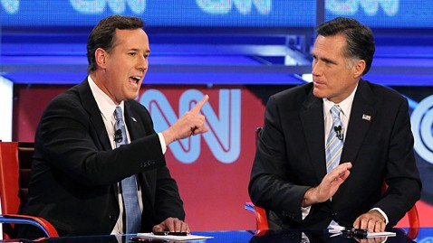 gty rick santorum mitt romney ll 120223 wblog Rick Santorum Previews Fresh Attack On Mitt Romney: Hes Resolutely Liberal