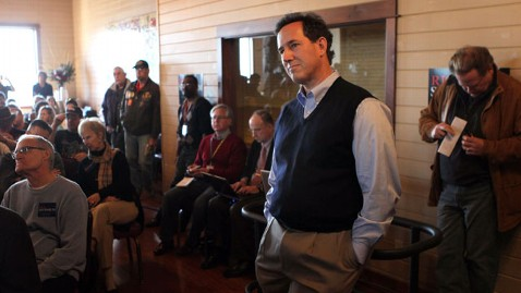 gty rick santorum nt 111229 wblog Now Rising in the Polls, Rick Santorum is No Longer Safe From Attacks