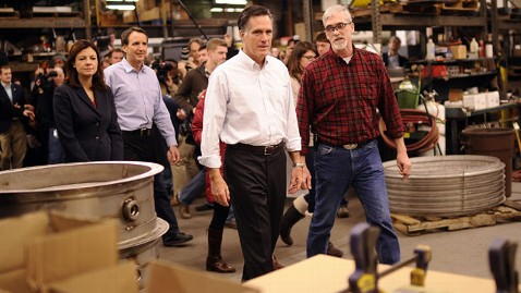 gty romney metal factory jef 120109 wblog Blue Collar GOP: Not Your Fathers Republican Party