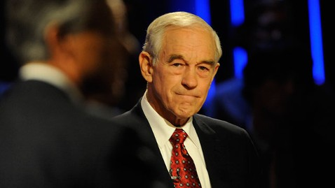 gty ron paul jt 111204 wblog Ron Paul Takes Swipes at GOP Rivals, Says Michele Bachmann Hates Muslims